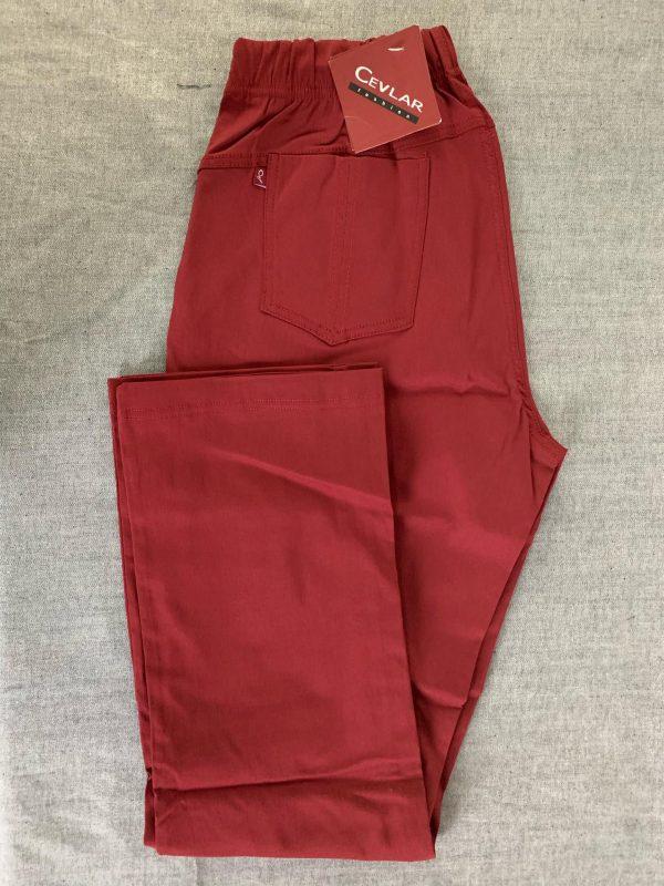 Spodnie Cevlar B02 kolor bordowy