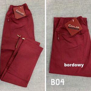 B04 bordowy