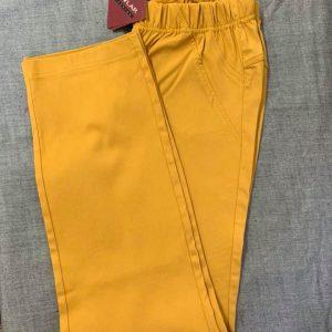 Spodnie Cevlar B02 kolor musztarda miodowa
