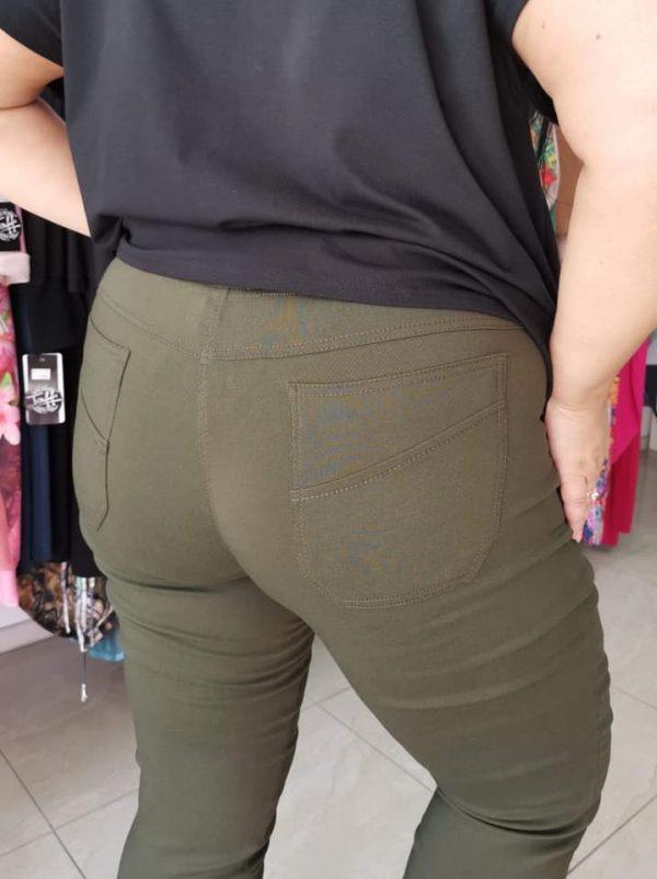 Spodnie Cevlar B09 kolor ciemna wojskowa zieleń