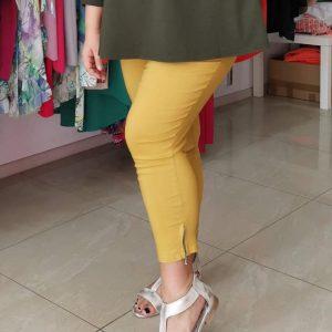 Spodnie Cevlar B04 kolor musztarda miodowa