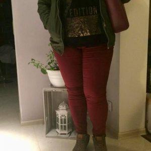 Spodnie Cevlar B07 kolor bordowy