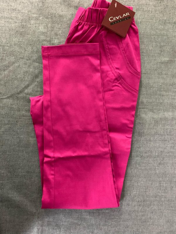 Spodnie Cevlar B07 kolor fuksja