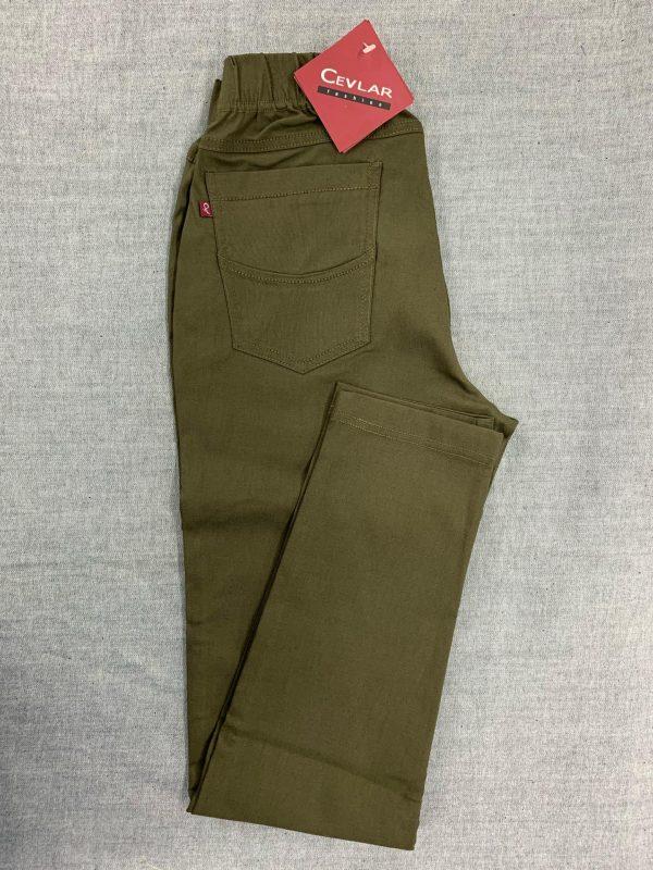 Spodnie Cevlar B07 kolor ciemna zieleń wojskowa