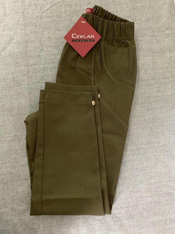 Spodnie Cevlar B08 kolor ciemna zieleń wojskowa