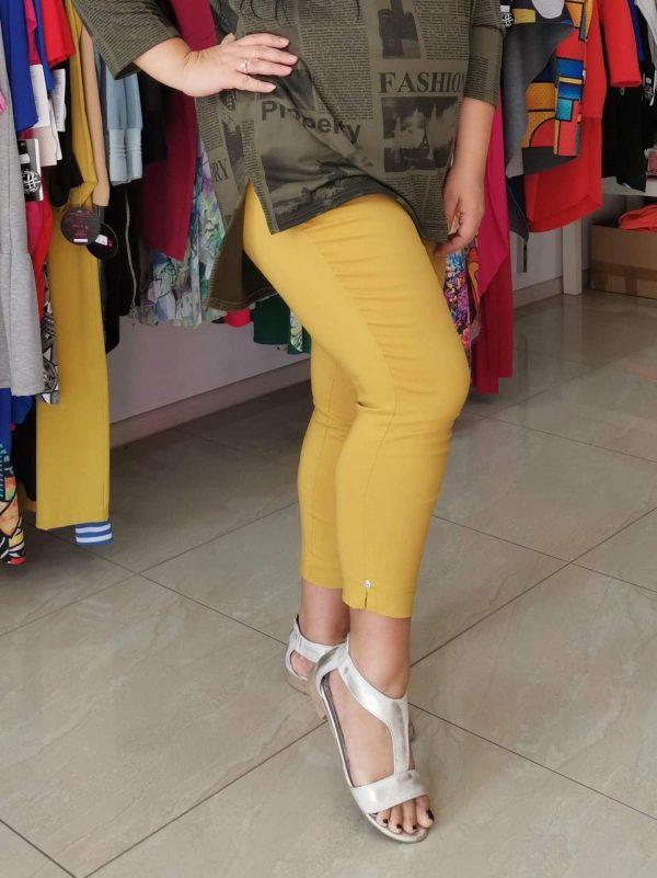 Spodnie Cevlar B08 kolor musztarda miodowa