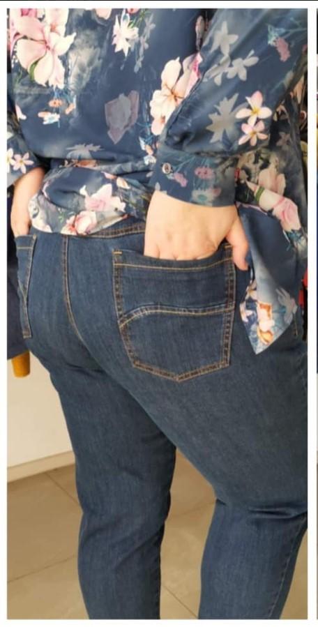 Spodnie Cevlar BJB 01 jeans kolor granatowy