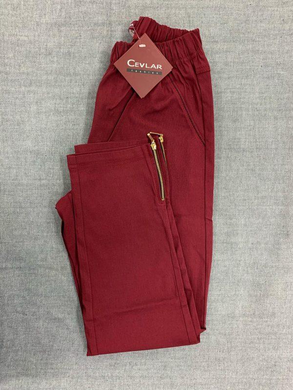 Spodnie Cevlar B04 kolor bordowy