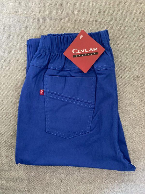 Spodnie Cevlar B08 kolor chabrowy