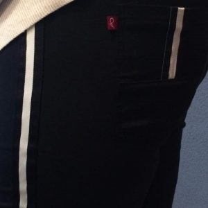 Spodnie Cevlar BL03 z lampasem kolor czarny