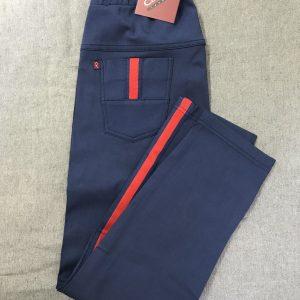 Spodnie Cevlar BL03 z lampasem kolor granatowy