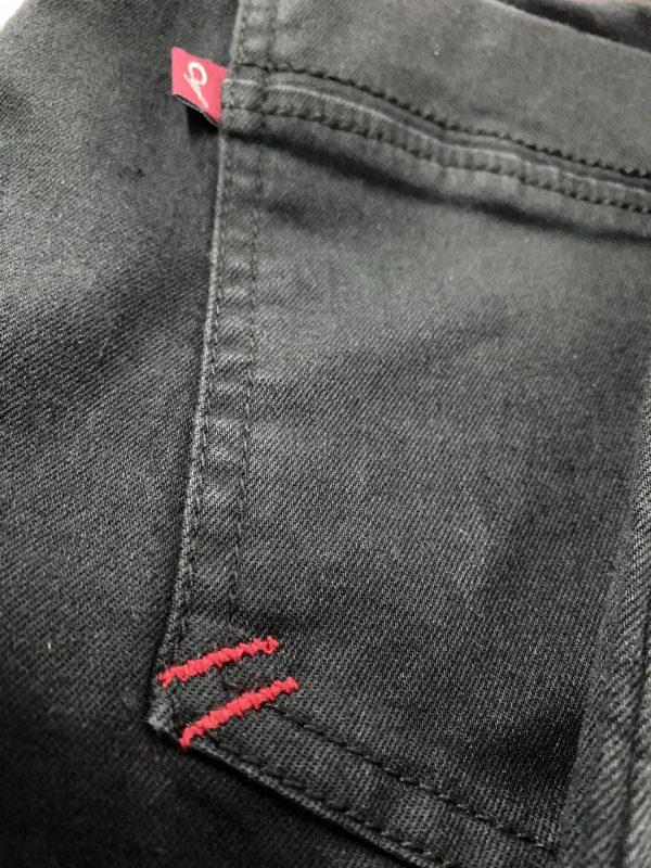 Spodnie Cevlar BJB 03 jeans kolor czarny