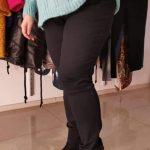Spodnie Cevlar BJB 01 jeans kolor czarny