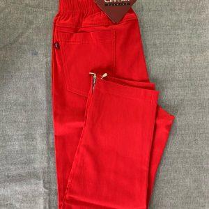 Spodnie Cevlar B04 kolor czerwony