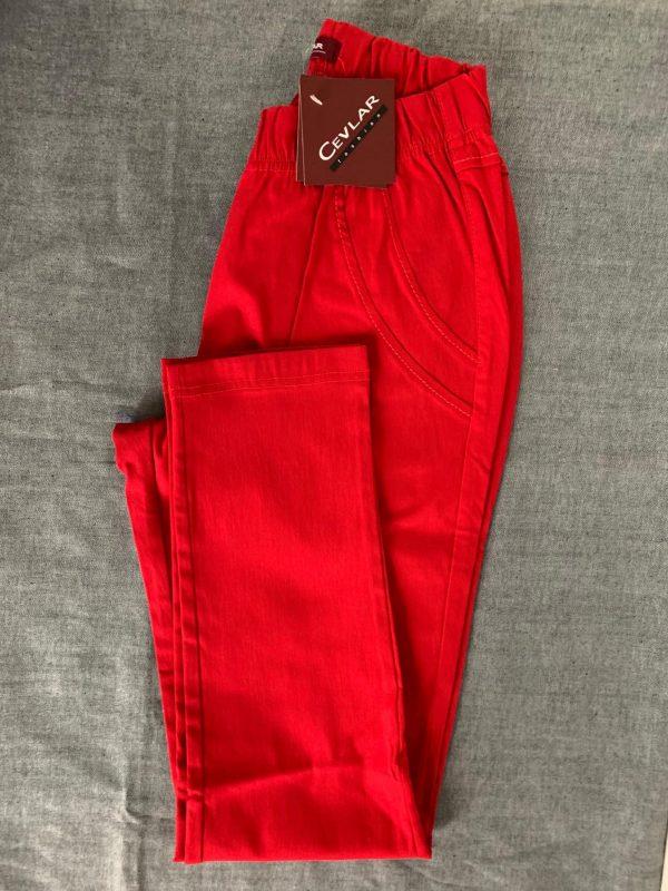 Spodnie Cevlar B07 kolor czerwony