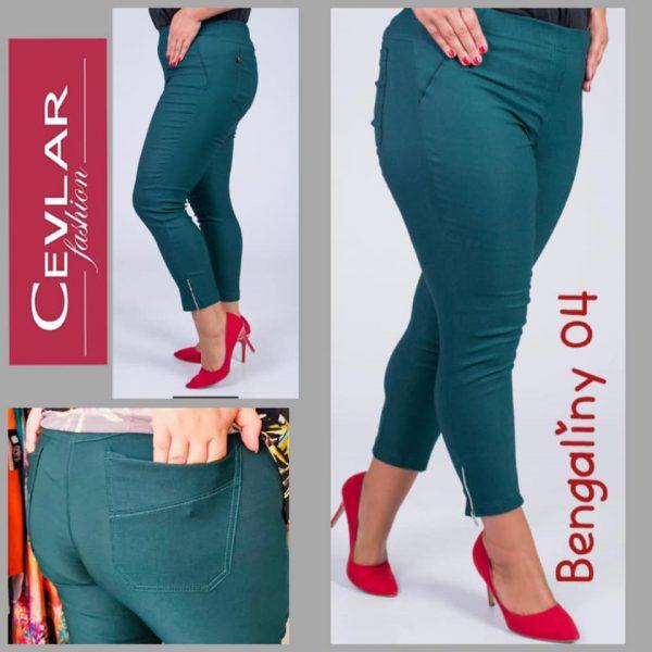 Spodnie z bengaliny Cevlar B04 kolor malachit