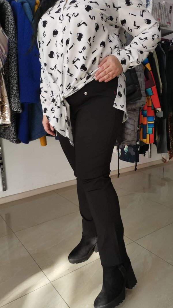 Spodnie Cevlar Miya 01 ciepłe – kolor czarny