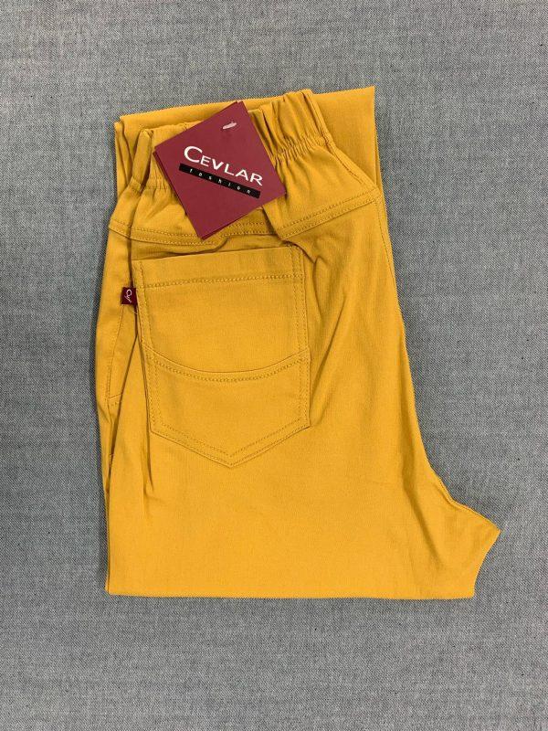 Spodnie Cevlar B07 kolor musztarda miodowa