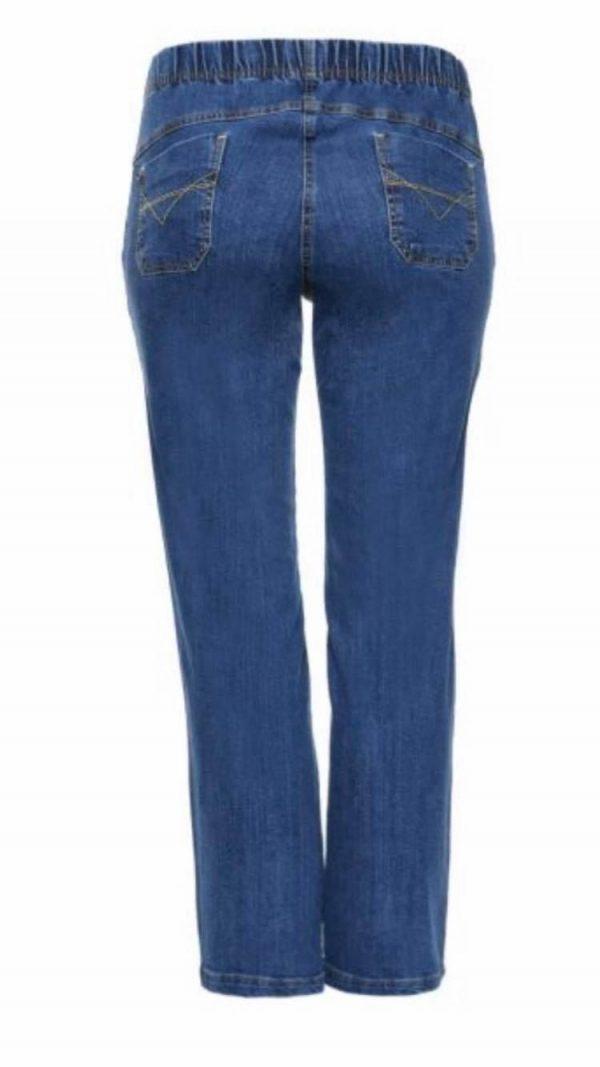 Spodnie Cevlar BJB 02 jeans kolor granatowy