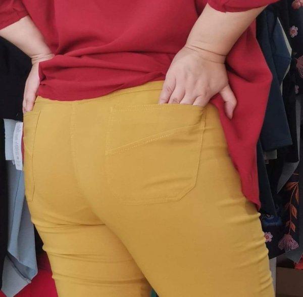 Spodnie Cevlar B09 kolor musztarda miodowa