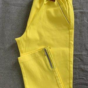Spodnie z bengaliny Cevlar B04 kolor cytryna limonka