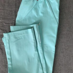 Spodnie z bengaliny Cevlar B04 kolor turkus mięta