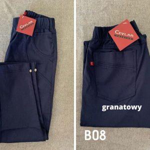 B08 granatowy