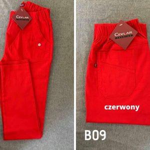 B09 czerwony
