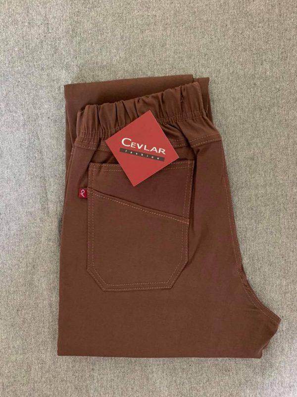 Spodnie Cevlar B09 kolor czekoladowy, plus size XXL