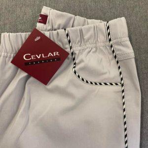 Spodnie z bengaliny Cevlar B06 kolor jasny gołąb, plus size XXL