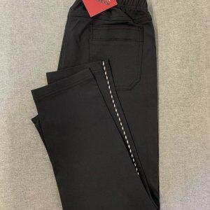 Spodnie z bengaliny Cevlar B06 kolor czarny, plus size XXL