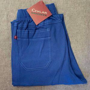 Spodnie Cevlar B05 długość 3/4 kolor niebieski