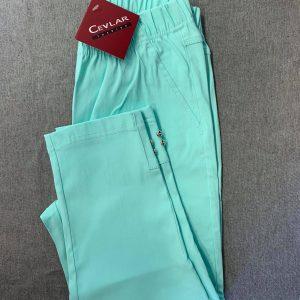 Spodnie Cevlar B05 długość 3/4 kolor turkus
