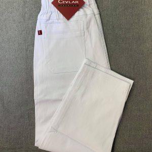 Spodnie Cevlar B05 długość 3/4 kolor biały