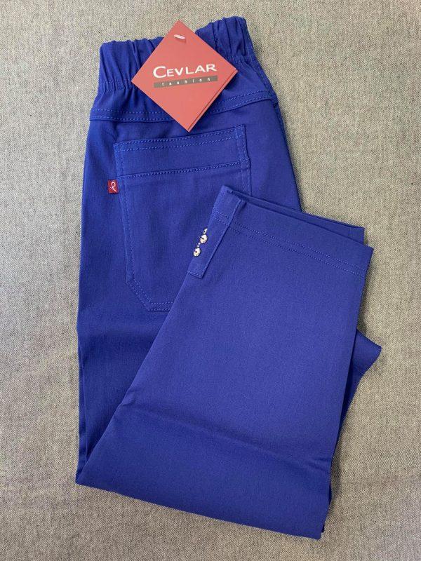 Spodnie Cevlar B05 długość 3/4 kolor chabrowy