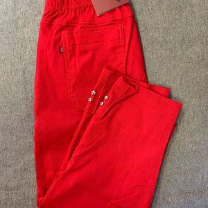 Spodnie Cevlar B05 długość 3/4 kolor czerwony