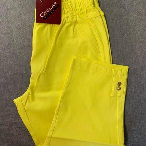 Spodnie Cevlar B05 długość 3/4 kolor żółty